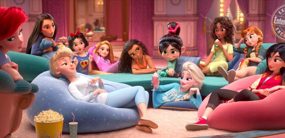 Ralph Breaks the Internet Comfy Disney Princess'