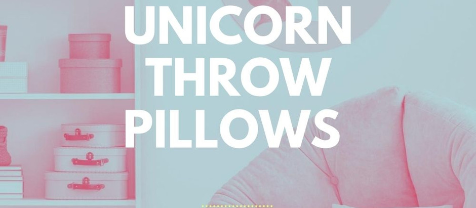 Unicorn Throw Pillow Covers