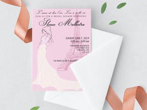 Love in Paris: Slonee's Bridal Shower