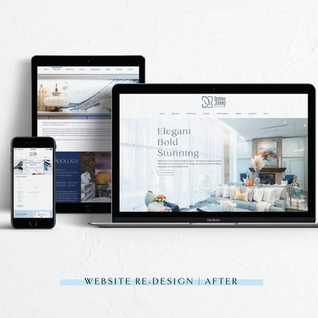Darlene Janeiro Design Group: Website Design