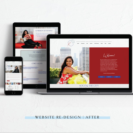 Kalpana: Website Design