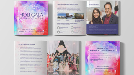 The William Osler Foundation 2020 Holi Gala