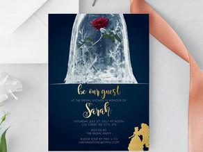 Beauty & The Beast: Bridal Shower