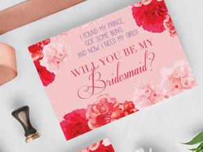 Bridesmaid's Proposal Card