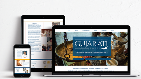 Gujarati Foods Website