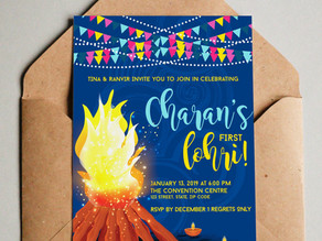 Lohri Celebrations for her and him