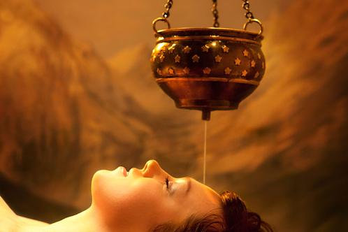 Massage ayurvedique Abhyanga + Shirodhara