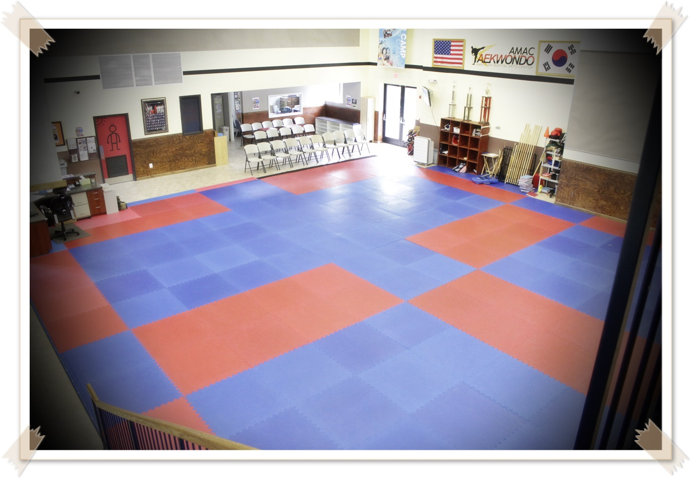 Main Dojang 2nd Floor View