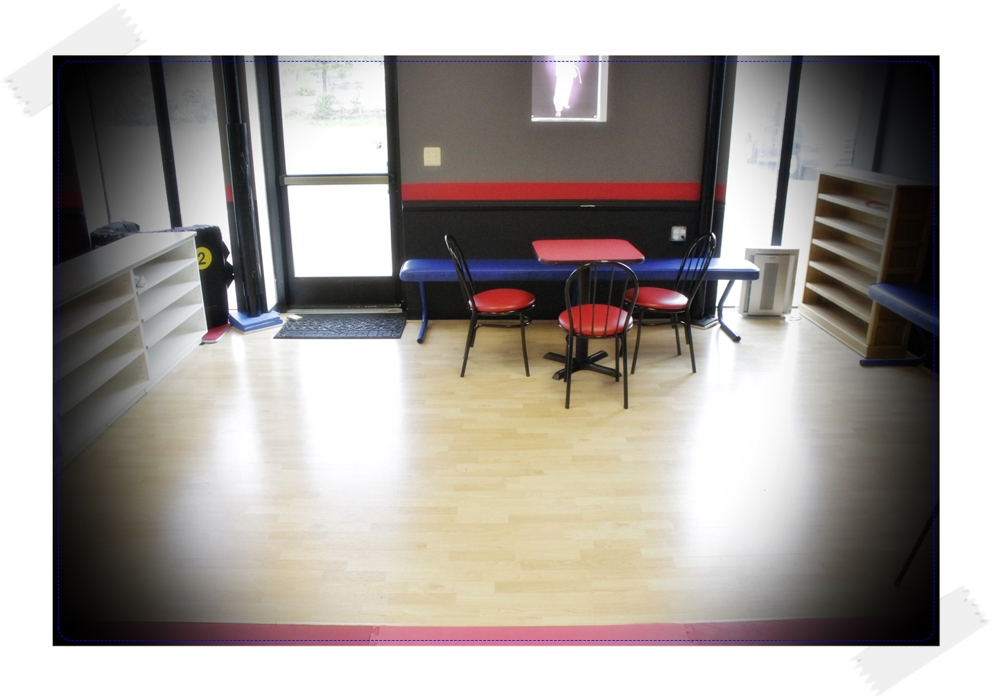 Side Dojang Waiting Area