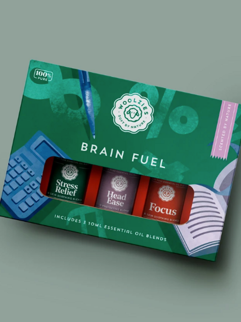 Essential Oils - Brain Fuel