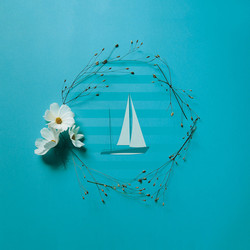 FlowerCrown_BlueIllustration