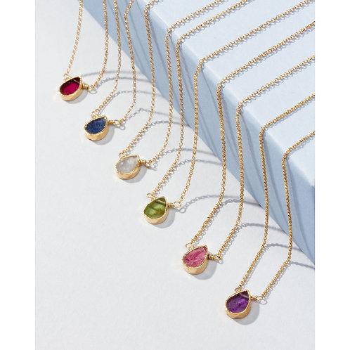 Dainty Birthstone Necklaces