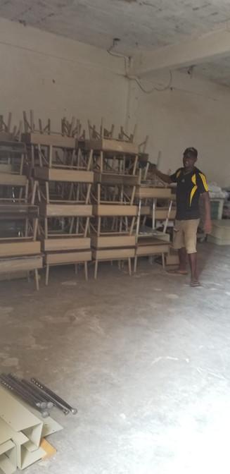 Chiars and desk for the Children.jpg