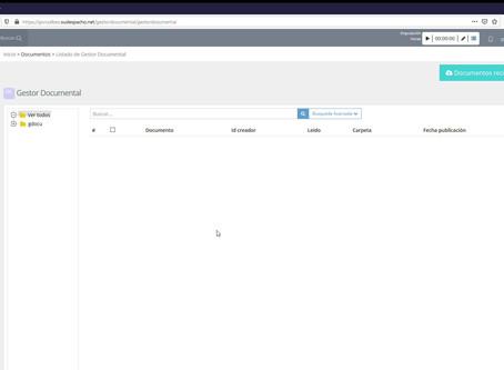 Subir documentación desde el acceso clientes