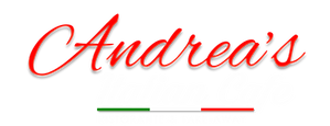 Andrea's Italian Cafe Logo 2019  White and Red.png