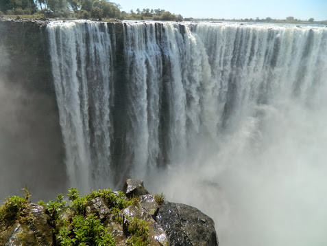 'The Smoke that Thunders' - Victoria Falls