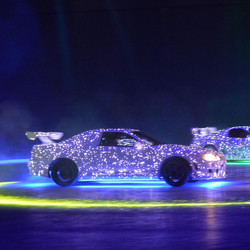 Sparkly Car with Motion Tracking