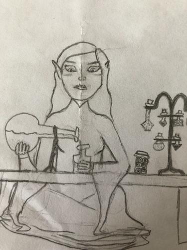 Darla Blaire, 12,  Druid Artificer