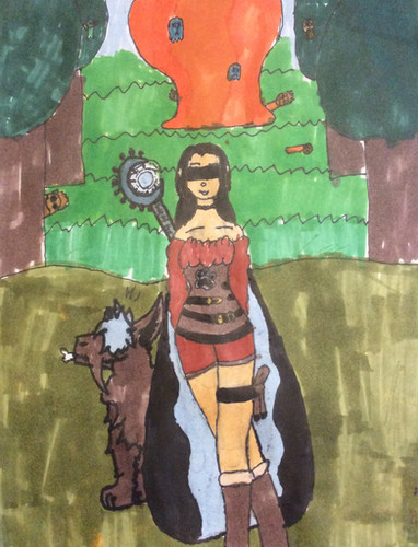 Enya, 15-year-old, Wood Elf Druid