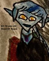 Ari, 78 year old Elf Rogue
