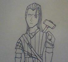 Stonebord, 12 - Dark Elf Cleric