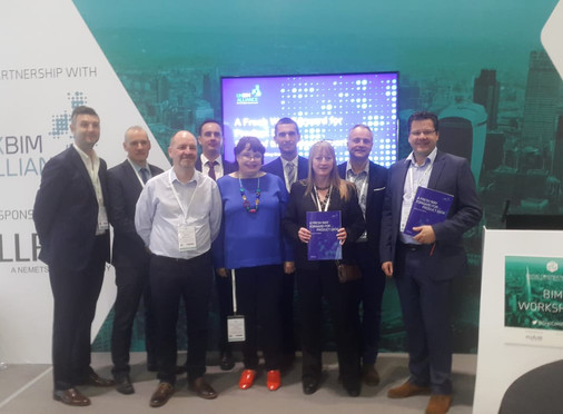 UK BIM Alliance Product Data Working Group: Launch of Report at Digital Construction Week.