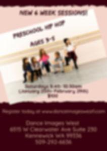Copy of Preschool 6 week- All sessions 2