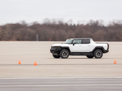 GMC HUMMER EV Kicks Off Winter Testing