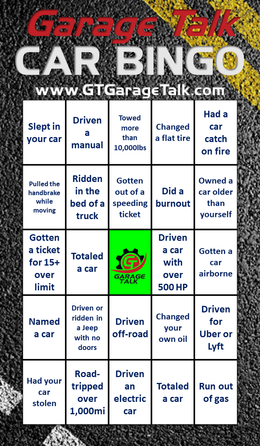Car Bingo 2.0