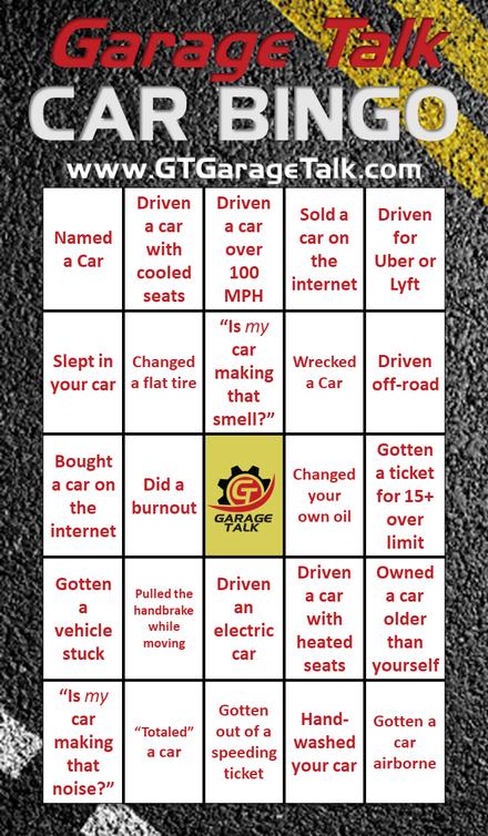 Car Bingo 1.0