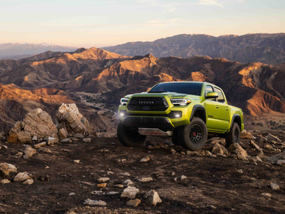 2022 Tacoma TRD Pro: Hallelujah for Color!