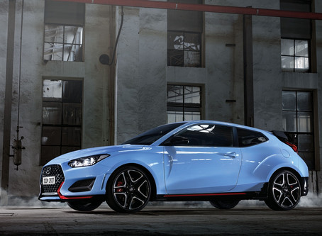 Hyundai Veloster N Announced with Unique Wet Dual-Clutch Transmission