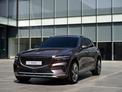 Genesis Previews the First Ever GV70 Mid-Size Luxury SUV