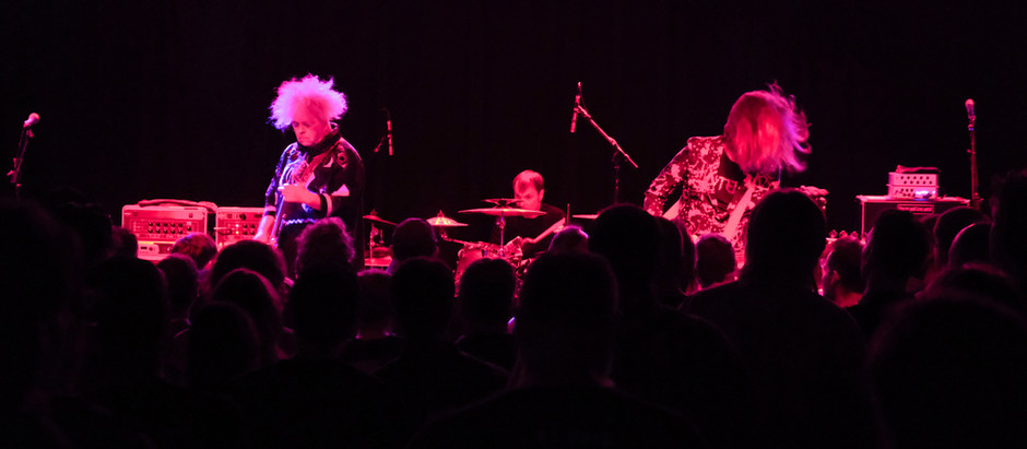 A Night Goat with the Melvins: A Cape of Sludgy, Oozy Goodness