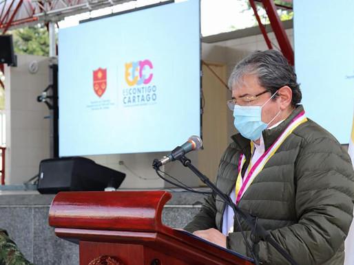¿REPRESENTA A CARTAGO EL MINISTRO CARLOS HOLMES TRUJILLO?
