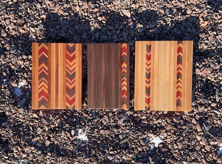 Feather Chevron Board