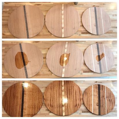 Mahogany Cutting Boards
