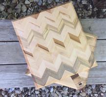 Chevron Maple Cheese Boards