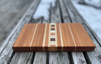 Small Citrus Board with Feet