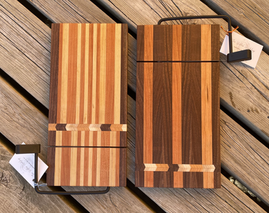 Cheese-Slicer Boards with Chevron