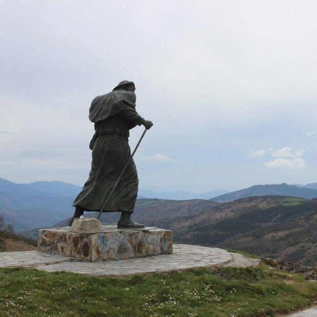 St James installation on the Camino