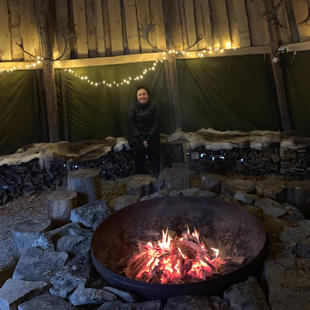 Learning about Sami culture... & feeling very very cold...
