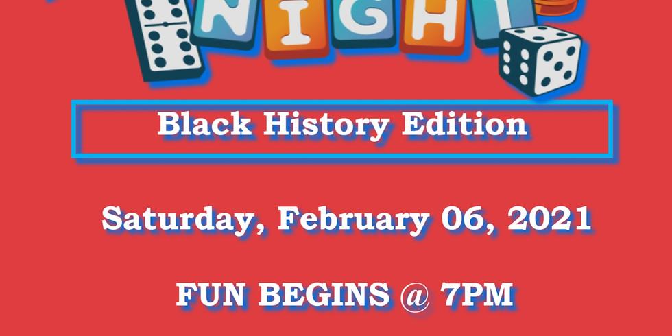 Virtual Game Night: Black History Edition