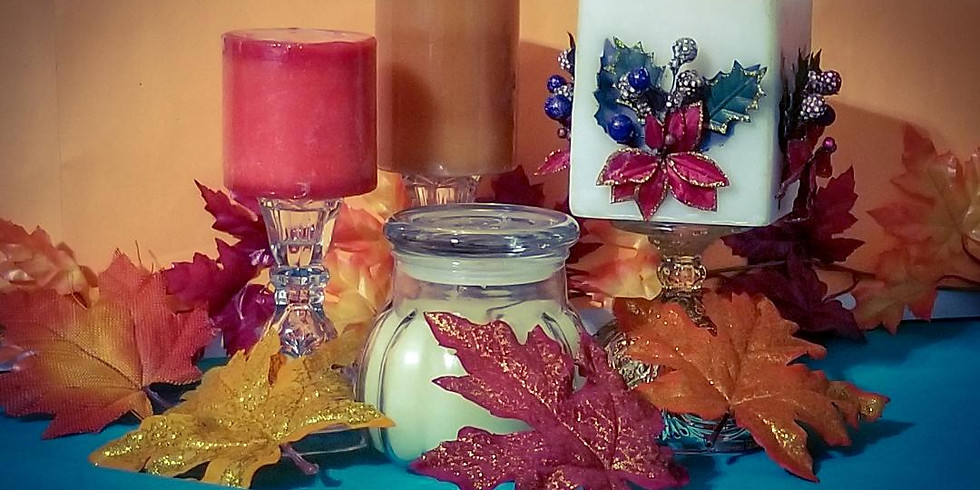 Holiday Candlemaking with Yvonne Fadlin