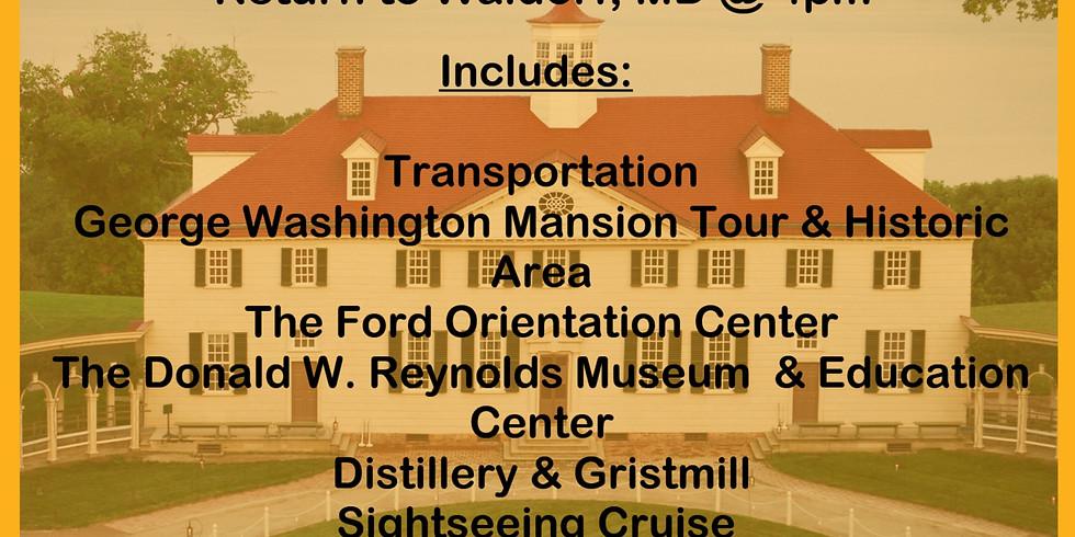 Bus Trip to George Washington's Estate