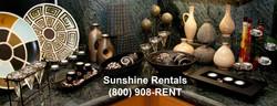 Sunshine Rentals Decorative Options