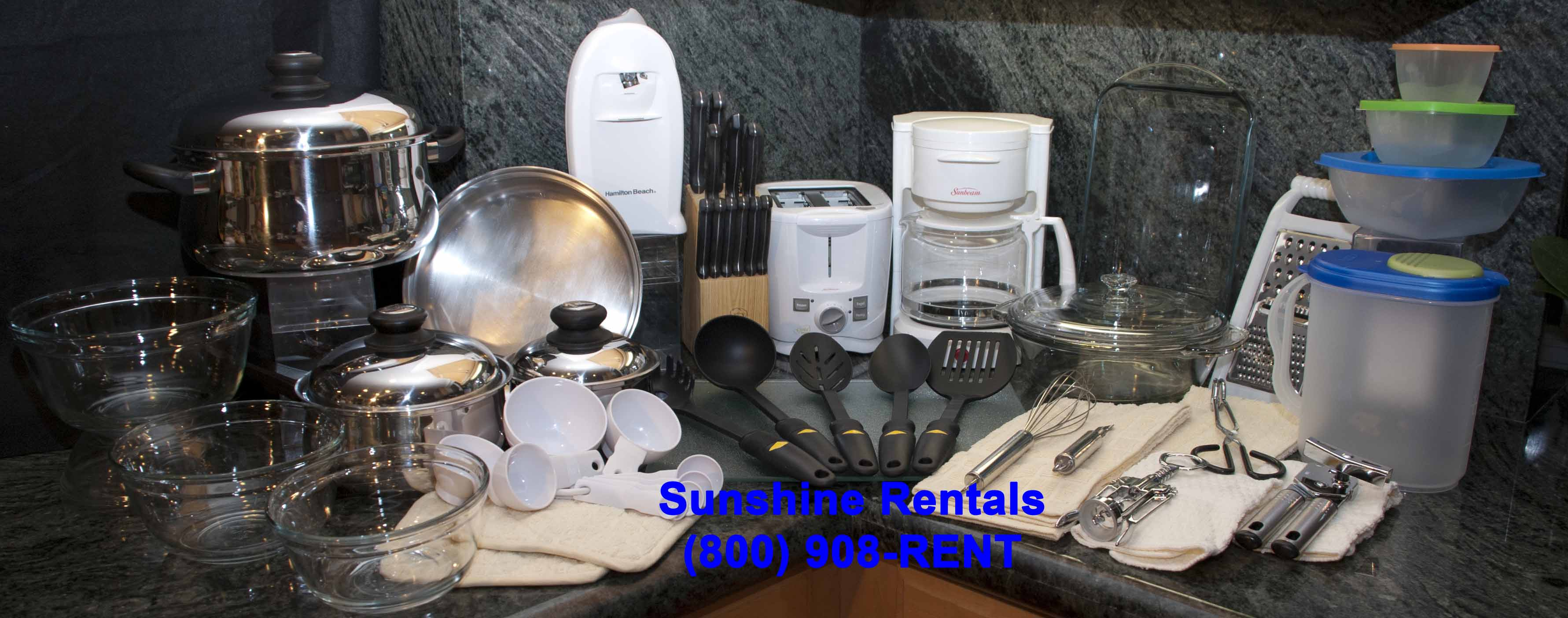 Sunshine Rentals Deluxe Kitchen