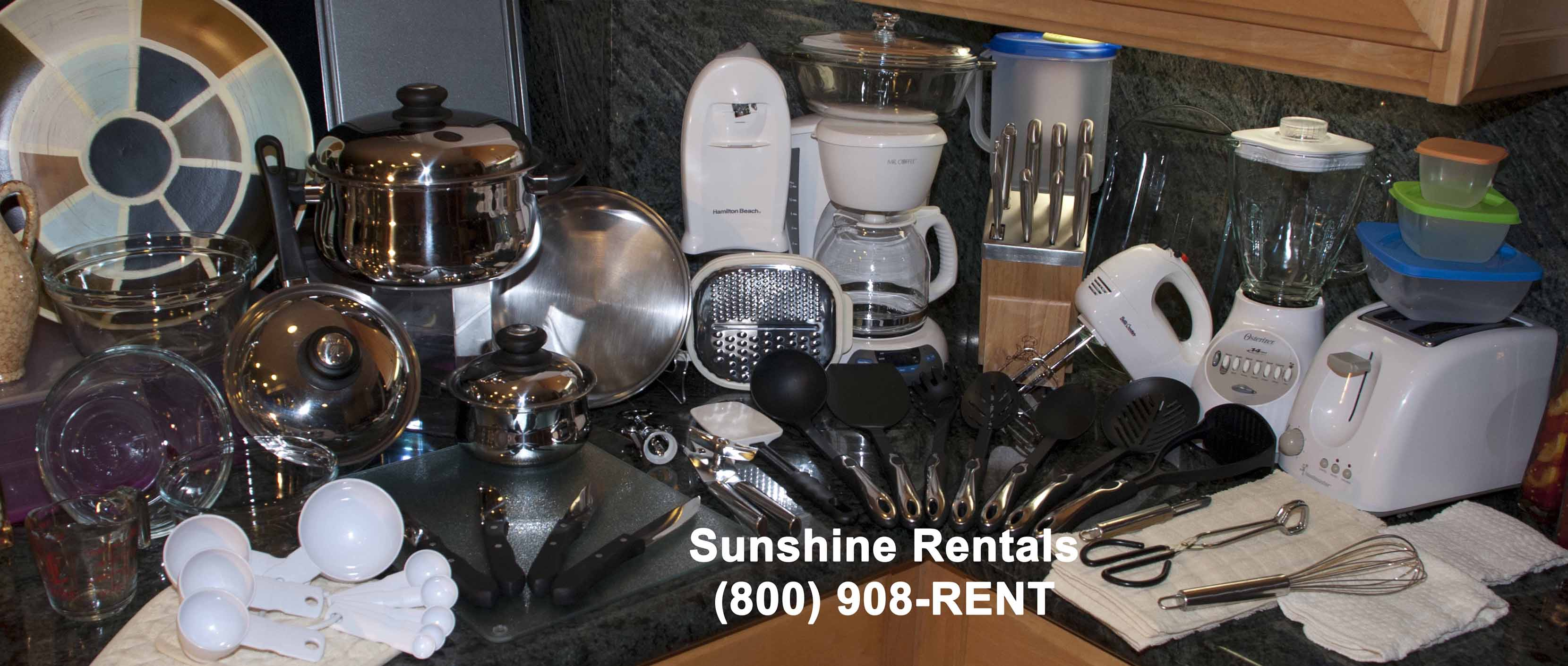 Sunshine Rentals Executive Kitchen