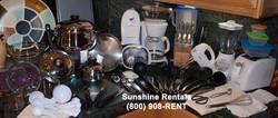 Sunshine Rentals Executive Kitchen