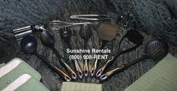 Sunshine Rentals Utensils